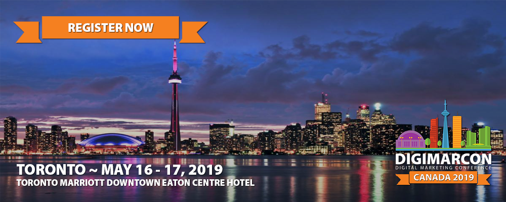 DigiMarCon Canada 2019 Register